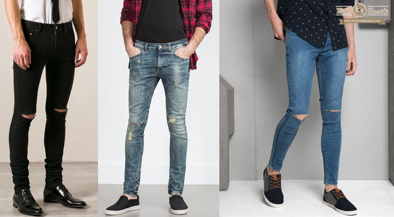 essentials hommes printemps été jeans slim fit